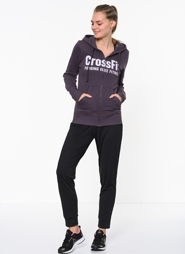 Reebok Kapüşonlu Fermuarlı  Sweatshirt Renkli